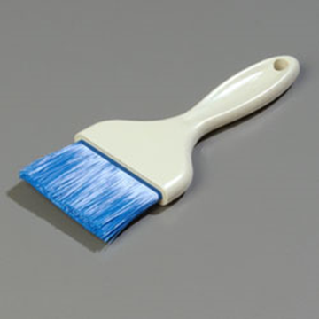"Carlisle 3"" Blue Flat Pastry Brush"