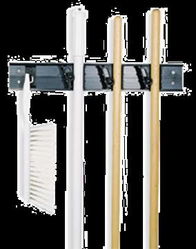 Carlisle Roll 'N Grip Broom and Brush Holder