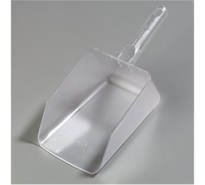 Carlisle 64 oz Frosted Polycarbonate Scoop
