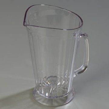 Carlisle 48 oz crystalite Clear Polycarbonate Pitcher