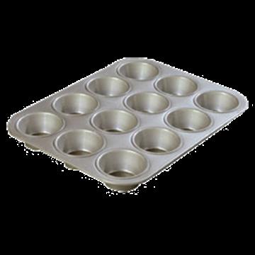 Carlisle Steeluminum Cupcake Pan
