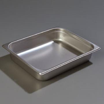 "Carlisle 607122 Light-Duty 1/2 Size, 2-1/2""D Food Pan"
