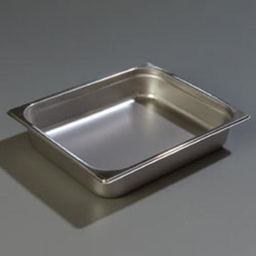 "Carlisle 608122 Heavy-Duty 1/2 Size, 2-1/2""D Food Pan"