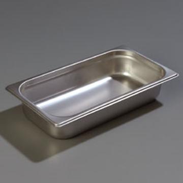 "Carlisle 608132 Heavy-Duty 1/3 Size, 2-1/2""D Food Pan"