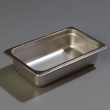 "Carlisle 608142 Heavy-Duty 1/4 Size 2-1/2""D Food Pan"