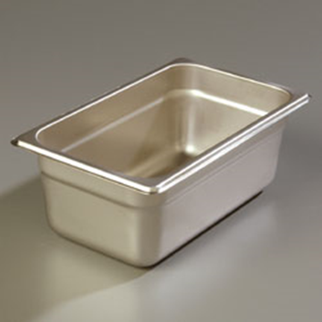 "Carlisle 608144 Heavy-Duty 1/4 Size 4""D Food Pan"