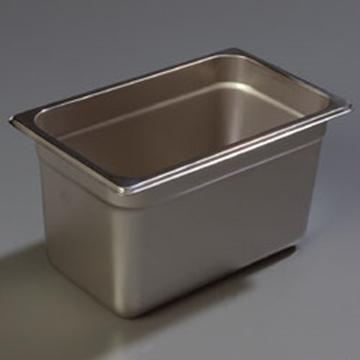 "Carlisle 608146 Heavy-Duty 1/4 Size 6""D Food Pan"