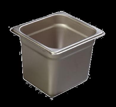 "Carlisle 608166 Heavy-Duty 1/6 Size, 6""D Food Pan"