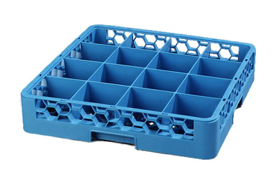 Carlisle 16-Compartment Cup Rack