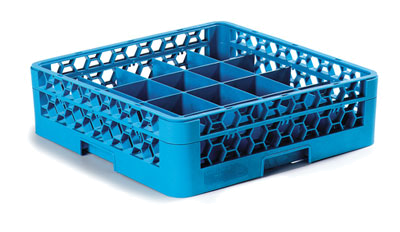 Carlisle 20-Compartment Cup Rack w/1 Extender