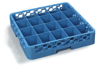 Carlisle 20-Compartment Cup Rack