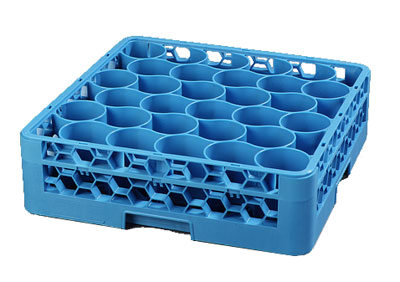 Carlisle OptiClean NeWave 30-Compartment Glass Rack