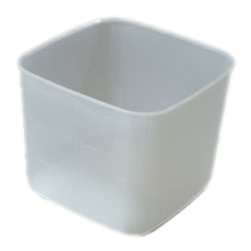 Carlisle Translucent 6 qt Economical Space Saver
