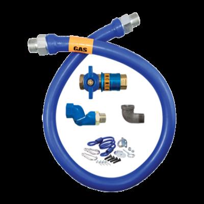 """Dormont Manufacturing 16100KITCFS48 Dormont Blue Hose Moveable Gas Connector Kit 1"""" Dia."""
