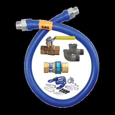 """Dormont Manufacturing 1675KIT72 Dormont Blue Hose Moveable Gas Connector Kit 3/4"""" Dia."""
