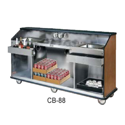 Food Warming Equip CB-6 Conventional Portable Bar 72""