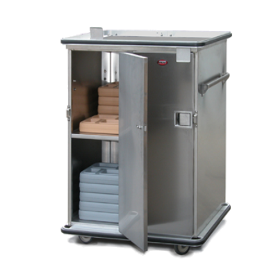 Food Warming Equip ETC-1314-64 Prisoner Tray Transport Cabinet Non-Insulated
