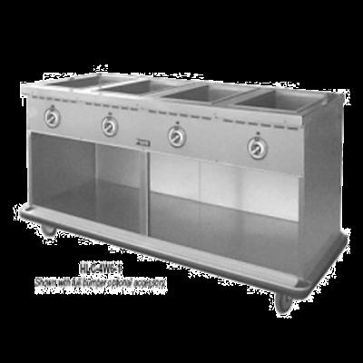 Food Warming Equip HLC-3W6-1-DRN Handy Line Serving Cabinet Mobile