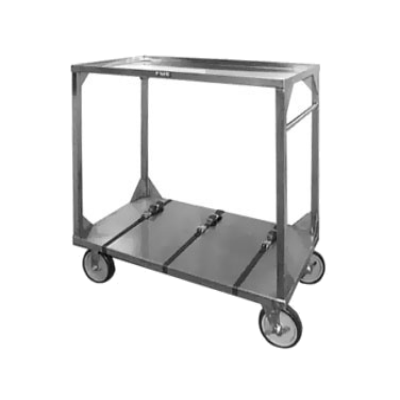 Food Warming Equip ITT-72-104 Institutional Tray Transport Cart Capacity Straps to Secure Trays