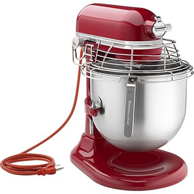 KitchenAid KSMC895ER 8-Qt Commercial Bowl-Lift Stand Mixer with Bowl Guard, Empire Red - KitchenAid