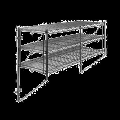 "Metro 12WS52C Regular Erecta Wall Shelf Kit 50-1/4""W X 13""D X 21""H"