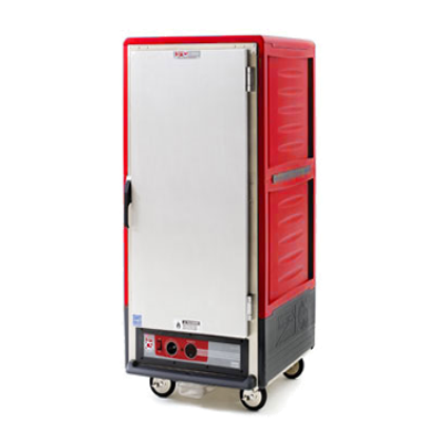 Metro C537-CFS-4 C5 3 Series Heated Holding & Proofing Cabinet w/ Red Insulation Armour