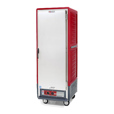 Metro C539-HFS-U C5 3 Series Heated Holding Cabinet with Red Insulation Armour