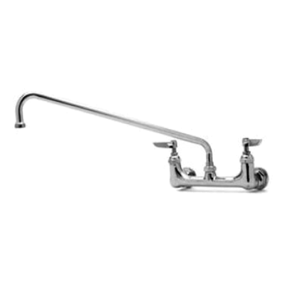 """T&S Brass B-0230 Sink Mixing Faucet 18"""" Swing Nozzle"""