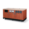 Vollrath 75728 6' Beverage Cart All Aluminum Composite Material Construction