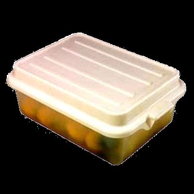 "Vollrath 1551-C13 Color-Mate Food Storage Box Combo Includes 5"" Drain"