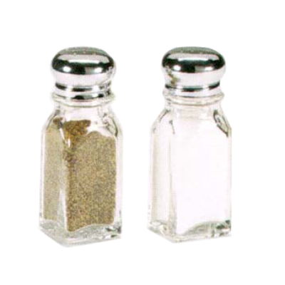 Vollrath 202-12 Dripcut Salt & Pepper Shaker 2Oz.