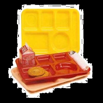 Vollrath 2615-138 School Compartment Tray Rectangular
