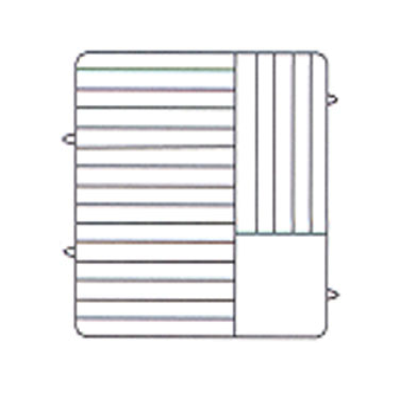 """Vollrath PM2011-6 Plate Crate Dishwasher Rack 10-3/4"""" to 11"""" Dia."""