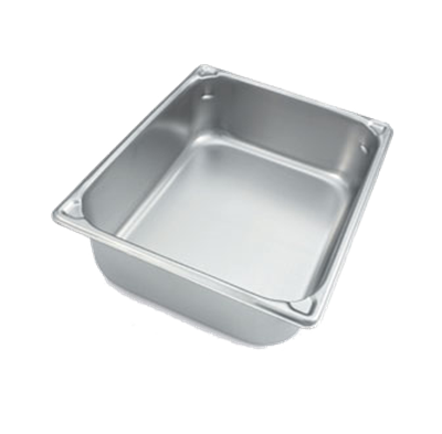 "Vollrath 30220 Super Pan 20 Ga SS ½ Size Food Pan, 2-1/2""D"