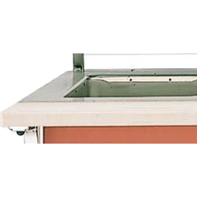Vollrath 37562-2 Cutting Board-Ada Signature Server w/ Stainless Steel Countertops Poly