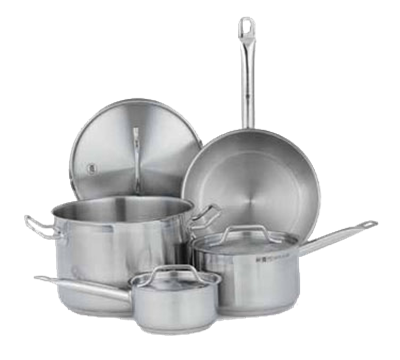 Vollrath 7 Piece Stainless Steel Cookware Set