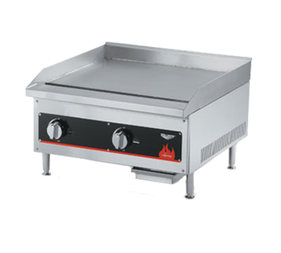 """Vollrath 24""""W Natural Gas Counter Top Griddle"""