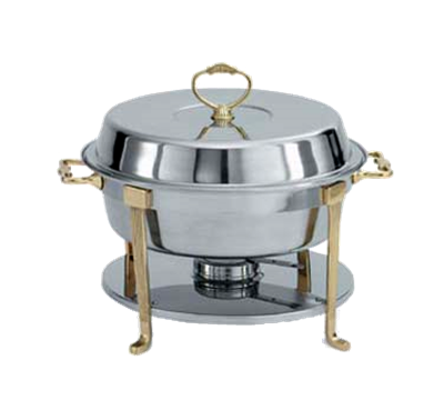 Vollrath 46033-2 Round Dome Cover Only for 46030 Brass Trim Chafer