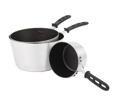 Vollrath 7 qt Sauce Pan with Black Handle