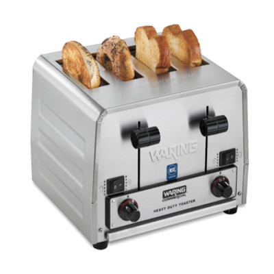 Waring WCT850RC Heavy-Duty Commercial Switchable Bagel/Bread Toaster Pop-Up