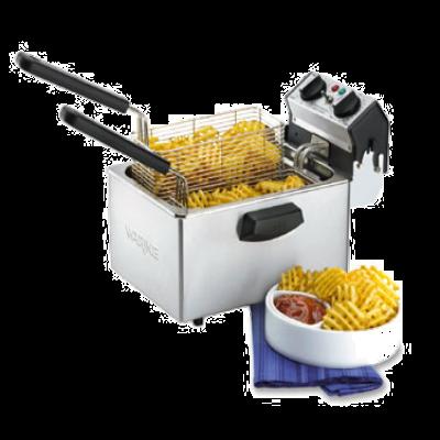 Waring WDF75B Countertop Deep Fryer Electric