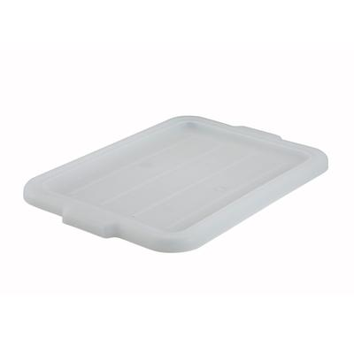Winco PL-57W Dish Box Cover Polypropylene