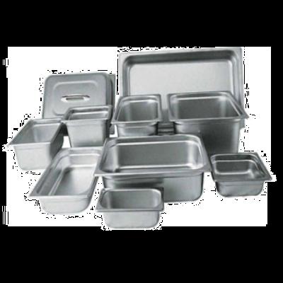 "Winco SPJM-204 Steam Table Pan Half Size X 4"" Deep"