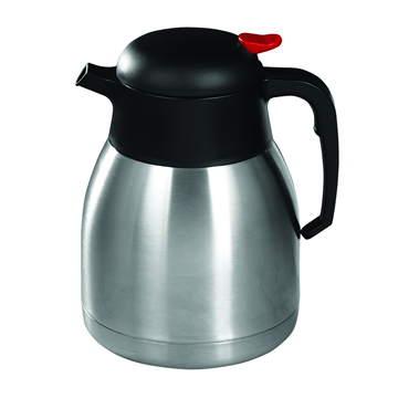 Winco CF-1.2 1.2 L Stainless Steel Lined Carafe