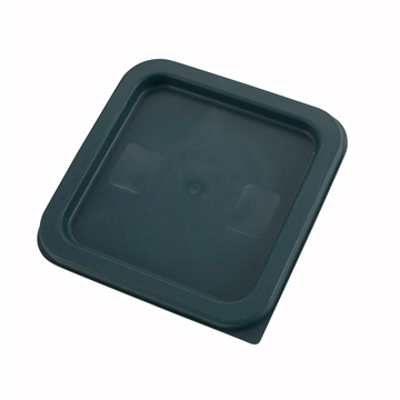 Winco PECC-24 Green Cover For Square Food Storage Containers