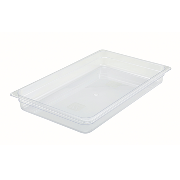 "Winco SP7102 2-1/2"" Polyware Full Size Food Pan"
