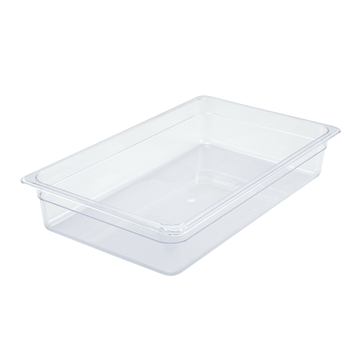 "Winco SP7104 4"" Polyware Full Size Food Pan"
