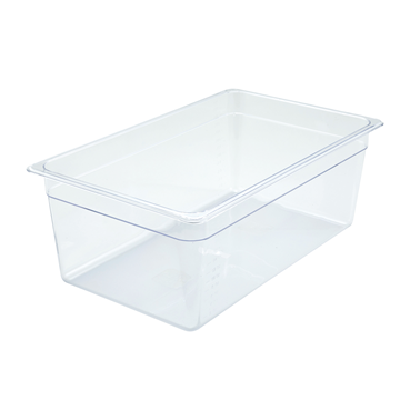 "Winco SP7108 8"" Polyware Full Size Food Pan"