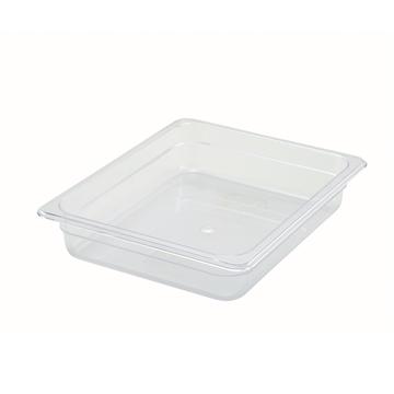 "Winco SP7202 2-1/2"" Polyware Half Size Food Pan"