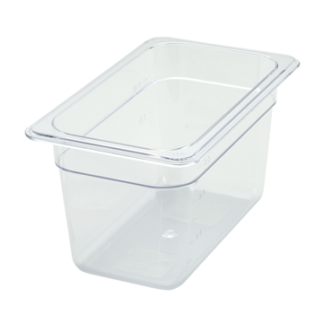 "Winco SP7406 6"" Polyware 1/4 Size Food Pan"